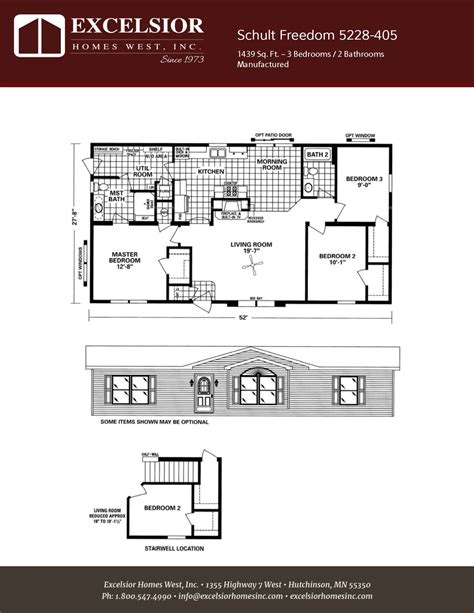 freedom homes floor plans schult freedom 5228 405
