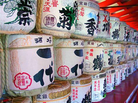 nihonshu japanese sake books file sake barrels jpg