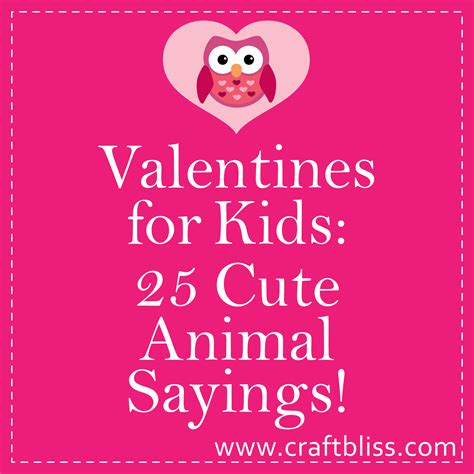 valentines sayings sayings valentines for card animal