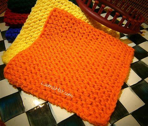 knitting squares knit squares free pattern loomahat