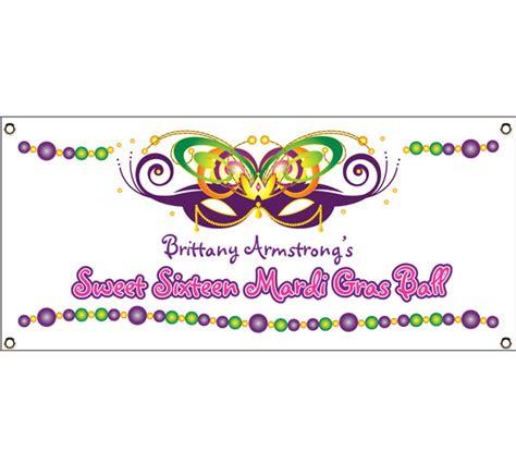 printable mardi gras banner mardi gras ball theme banner