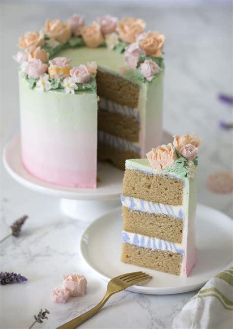 lavender cake preppy kitchen