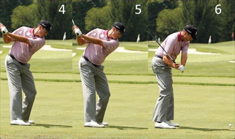 right shoulder golf swing matt kuchar natural born one plane golf swing