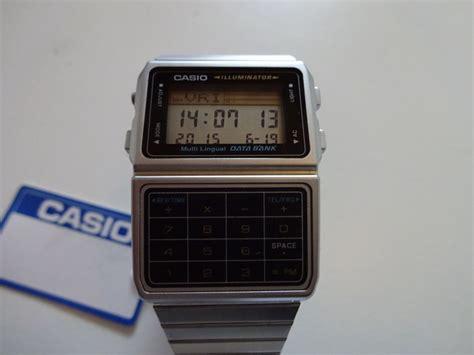 Casio Dbc 611 1df casio illuminator dbc 611 1df s wristwatch 1980s