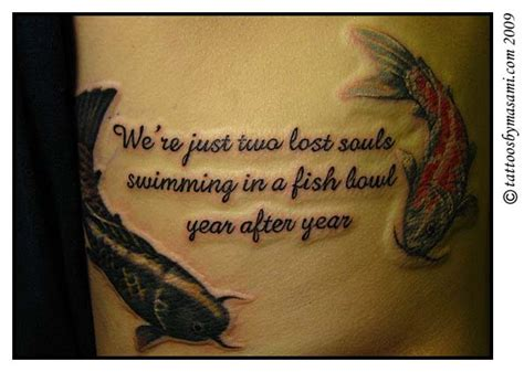 Koi Fish Quote koi fish quotes designs for tattoomagz