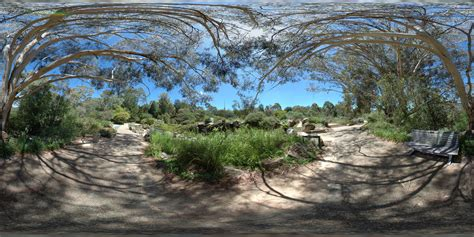 File Australian National Botanic Gardens Fisheye View Australian National Botanic Gardens