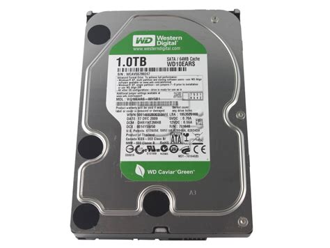 Hardisk Wd Green 1tb western digital caviar green wd10ears enterprise sata drive