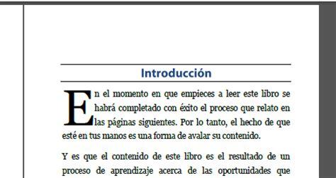 libro primera pgina vida crear encabezados para que tu libro impreso luzca profesional