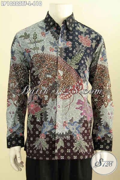 Kameja Batik Premium model baju batik cowok lengan pajang size l kemeja batik premium furing hadir dengan