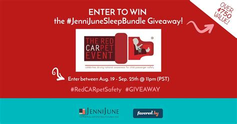 Celebrity Giveaways - redcarpetsafety jennijunesleepbundle giveaway jenni june llc