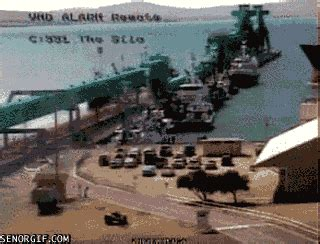 boat parking fails ship fail gif by cheezburger find share on giphy