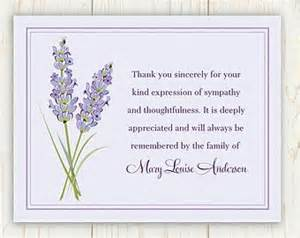 25 best ideas about funeral thank you notes on sympathy thank you notes funeral