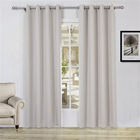 54 inch curtains and drapes lullabi solid thermal blackout window curtain drapery