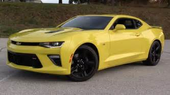 Chevrolet Camaro Pictures 2016 Chevrolet Camaro Ss 6 Spd Start Up Road Test And In