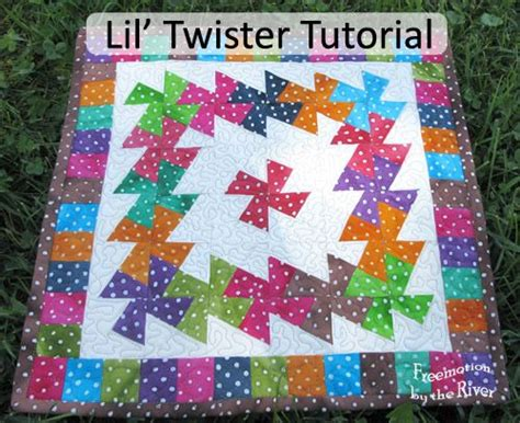 twister dot 3 lil twister dots tutorial bright colours fabrics and