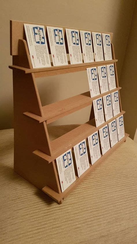 flat pack craft collective jewellery display stand 4 shelf version compact flat