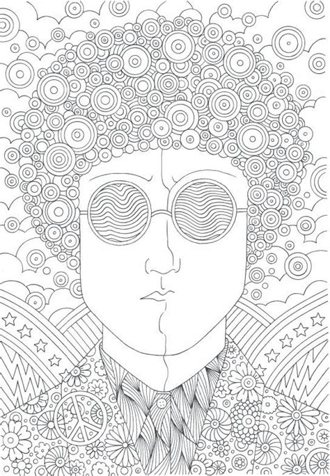 hippie coloring pages 72 best hippie peace signs coloring pages for adults