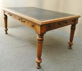 Antique Library Table Desk by Oak Partners Library Table Writing Desk Antiques Atlas