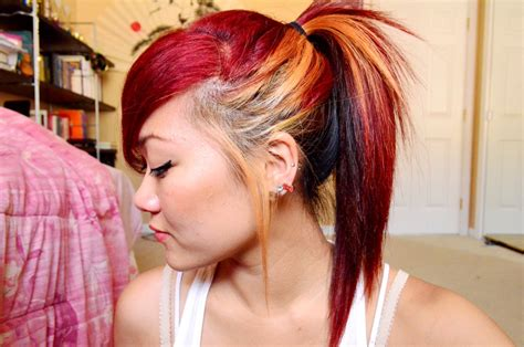 hairstyles red and blonde short blonde hair color ideas cool hairstyles