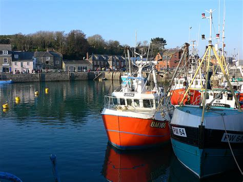 fishing boat jobs cornwall fishing boats in padstow harbour this photo links to my