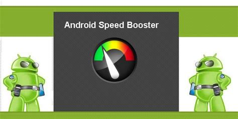 android speed booster android speed booster android app review