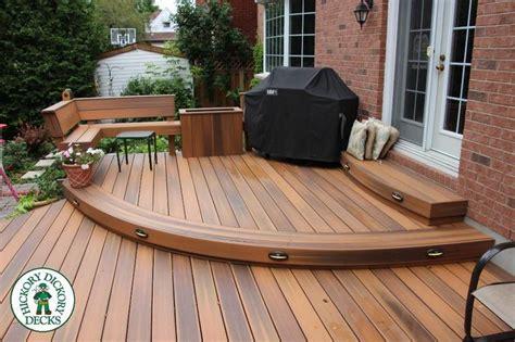 ideas  ground level deck  pinterest decks