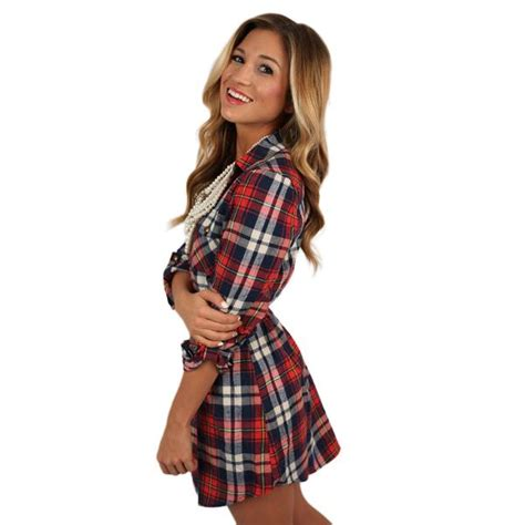 southern comfort boutique southern comfort flannel dress in red impressions online