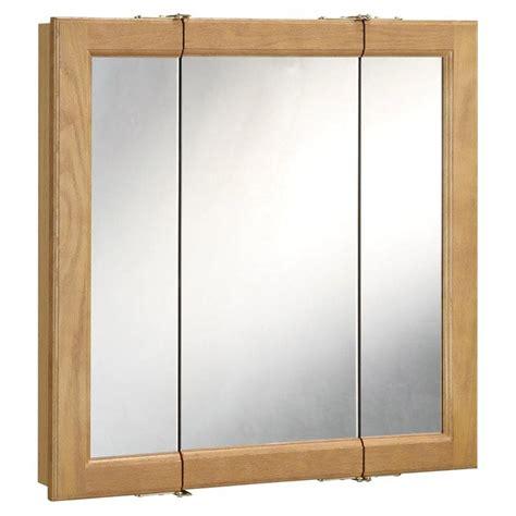 design house richland tri view medicine cabinet mirror