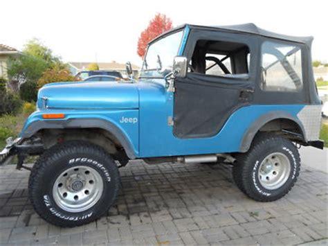 Jeeps For Sale 5000 Jeep Cj Cj5 Jeep Cj5 1971 For Sale 5000 00