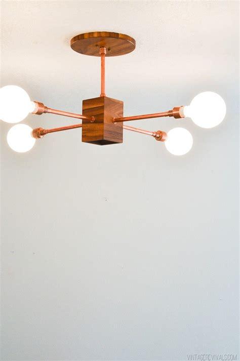 Diy Hanging Light Fixture Diy Copper And Wood Hanging Light Fixture Vintage Revivals Bloglovin