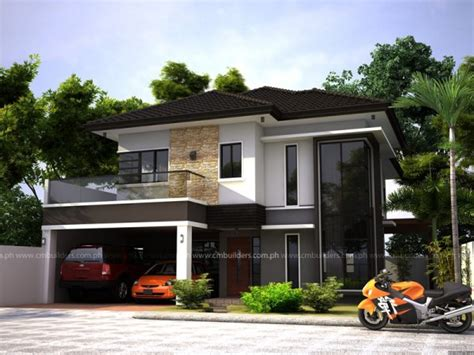 zen type home design modern zen house design cm builders