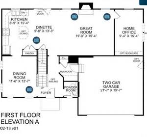 my first palermo floor plan building a palermo with ryan homes our elevation choice