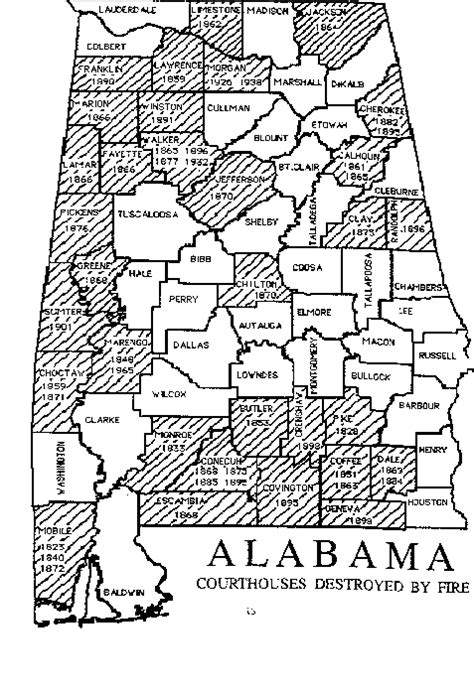 County Alabama Records Alabama Archives County Records