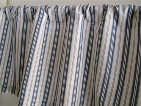 blue ticking stripe curtains blue ticking stripe curtains home design ideas