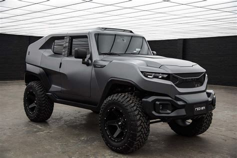 Rezvani Tank Is An Extreme Jeep Wrangler With 500 Hp The