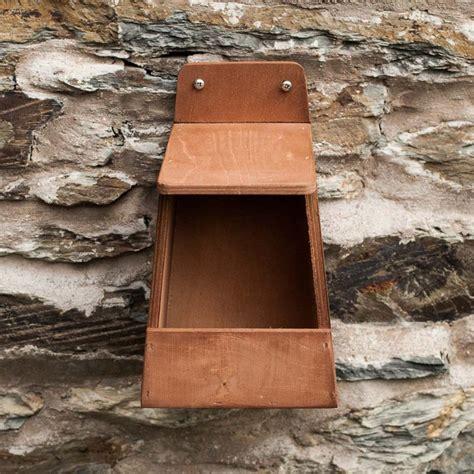 robin nest box nhbs wildlife conservation shop