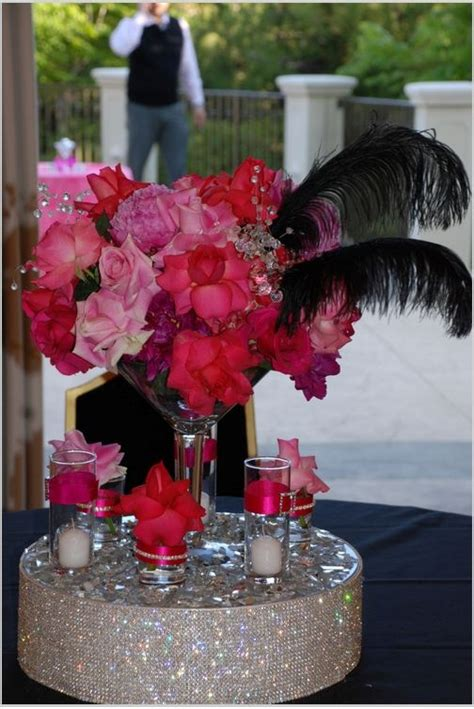 and the city themed centerpieces by social couture