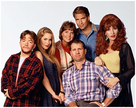 married with children cast married with children cast signing announcement