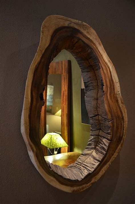 cool mirror live edge wood not what come to mind when you hear the