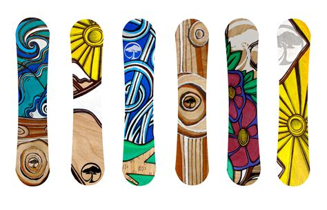 designs snowboard designs andrea gordon artwork