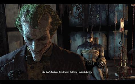 imagenes del joker de arkham miikahweb game batman arkham city