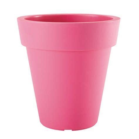 pot plastique jardin cache pot de jardin en plastique h 45 cm