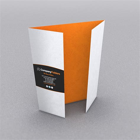 gate fold brochure 9 stylish folder brochure folds for print designers