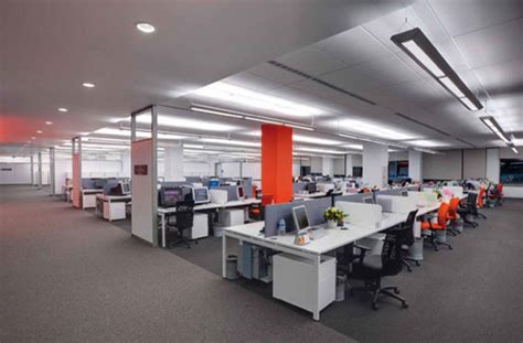 Modern Workspace Offices Co Working And What S Right Open Floor Plan Office Increase Productivity
