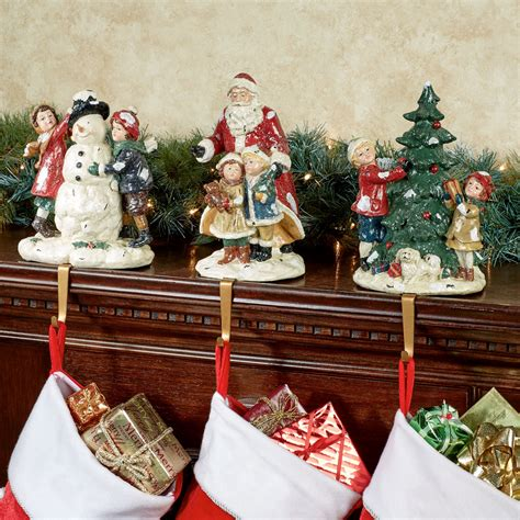 night before christmas stocking holder set