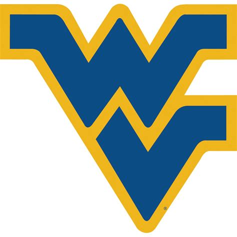 west virginia west virginia mountaineers vinyl magnet set of 2