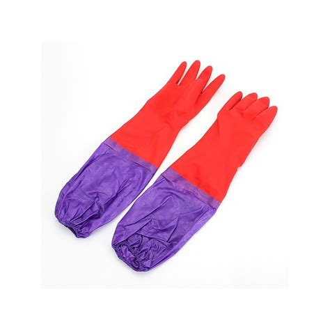 Clean Sleeve Wash wash cleaning sleeves rubber gloves