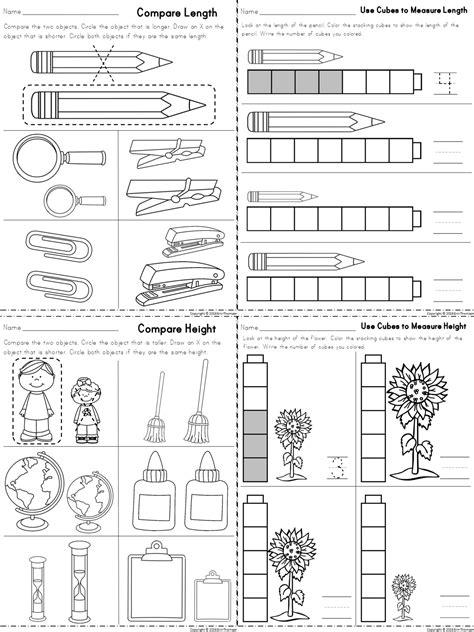 Kindergarten Math ~ Measurement | Education | Kindergarten