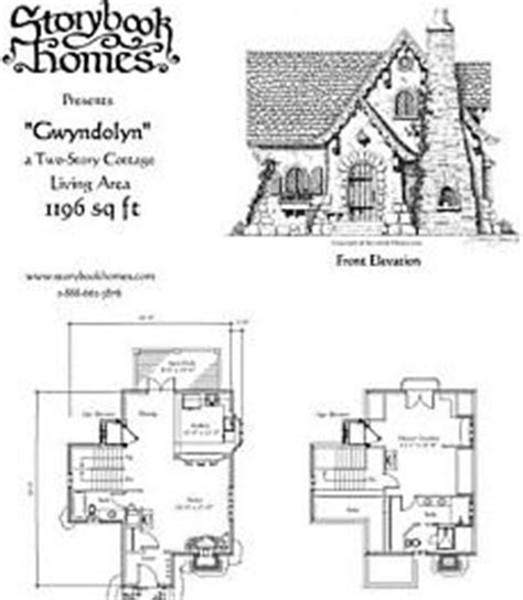 small cottage house plan with loft fairy tale cottage storybook homes on pinterest cottages storybook cottage