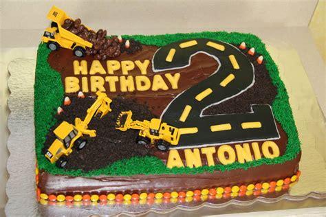 construction 2nd birthday cake construction truck birthday cake antonio s birthday